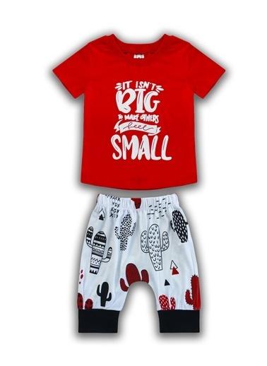 By Leyal For Kids 2 li Takım Kırmızı
